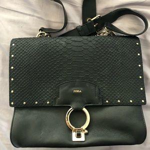 Black furla bag
